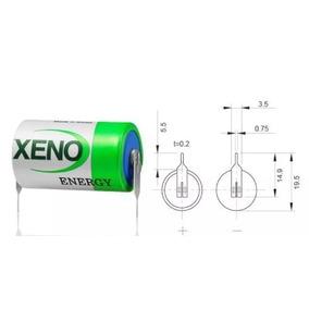 Baterías De Litio 3.6 V 1/2 Aa Xeno Xl-050f