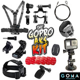 Goma Aks Mejor Gopro Mounts Kit - Dispara A Cada Aventura...