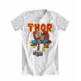 Camiseta Camisa Thor Marvel Quadrinhos Filmes Super Herói