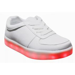 Zapatos Con Luces Niñas Niños Moda 2018