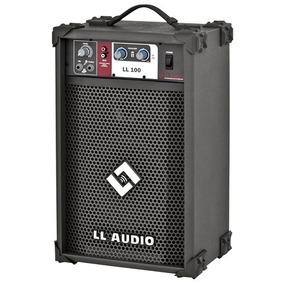Caixa Multiuso Ll Audio 100 25w Karaoke Voz Violao Microfone