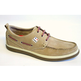 Zapatos Nauticos Pataugas De Nobuck Boris