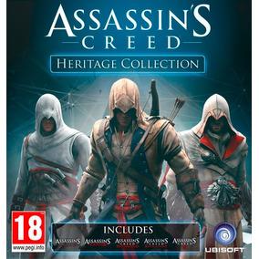 Ps3 Assassins Creed 1 + 2 + Brotherhood + Revelations + 3