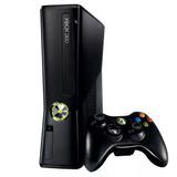Console Xbox 360 Slim 4gb Destravado+ Controle + 1 Jogo