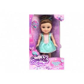 Sparkle Girlz - Boneca Bailarina 35cm - Morena