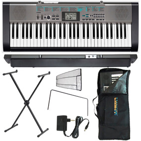 Kit Teclado Arranjador Musical Ctk 1300 Casio