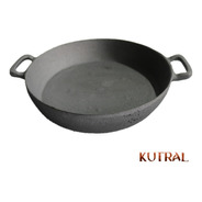 Paellera, Wok De Fundición De Hierro - Kutral -