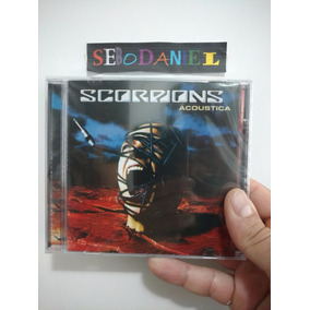 Cd Scorpions - Acoustica Lisboa 2001 - Orig Novo E Lacrado!