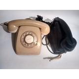 Vintage Dos Antigüos Teléfonos Baquelita: Bays Y Negro