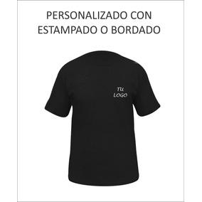 Remera 100% Algodón Bordada / Estampada