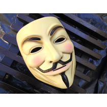 Máscara V De Venganza, Anonymous 100% Original