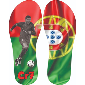Chinelo Portugal Cr7