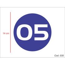 Adesivo - Número/controle De Frota - Carro/caminhão
