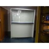 Cubiculos Cerrados Con Puerta Y Vidrio En Mdf