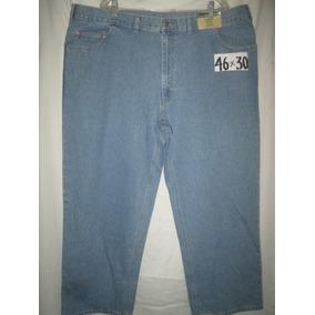 Pantalon Jeans Mezclilla Talla 46 X 30 Scadia Woods