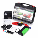 Partidor Cargador Bateria Auto 12v + Inflador Rueda + Envio