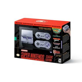 Super Nintendo Classic Edition Snes / Novo / Pronta Entrega