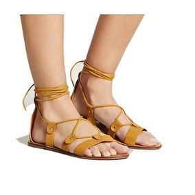 Sandalias De Mujer Forever 21 Color Camel