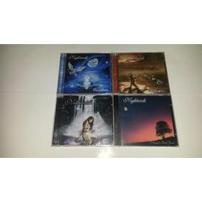Nightwish 4 Cds Wishmaster Oceanborn Century Angels