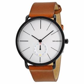 Relógio Skagen Masculino Skw6216 Preto Marrom - Nota Fiscal