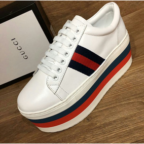 Sapato Plataforma Alto Luxor Gucci Importado Pronta Entrega