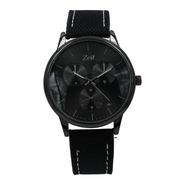 Reloj Zeit  Hombre  Tela  Negro - Cb00019073