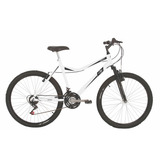 Bicicleta Mountain Bike Mormaii Aro 26 Jaws Branco Susp.