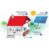 Kit Gerador Energia Solar Fotovoltaica Off Grid 300 Wp