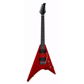Cruzer Guitarra Electrica Acabados Rojo Metalico Rv800