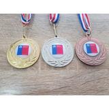 Medallas Deportivas 50mm, Incluye : Logo - Cinta Y Grabado