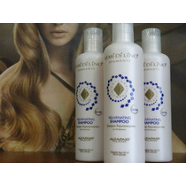 Shampoo Rejuvenecedor Semi Di Lino Alfaparf (sin Sal) 242cm3