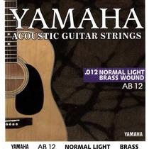 Set De Cuerdas Para Guitarra Electro-acústica Yamaha 012