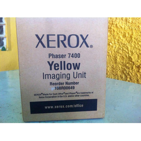 Xerox Phaser 7400 Yellow Amarillo Serial No 108r00649 Dispon