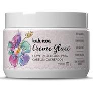 Crème Glacê Leave In Cabelos Cacheados 300g - Kah Noa