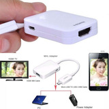 Microusb Mhl A Hdmi Solo Compatible Samsung S3/s4/s5/note 3