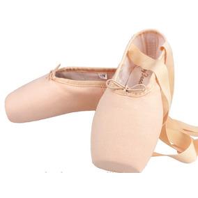 Zapatillas De Punta Para Ballet Lona+mallas+punteras+envio