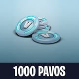 Fortnite 1000 Pavos V-bucks Pc, Ps4, Xbox, Switch, Iphone