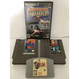 Zelda Nintendo 64 + Juegos Nes + Ps2