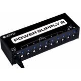 Fuente Para Pedales Joyo Power Supply 2 Jp-02 10 Pedales