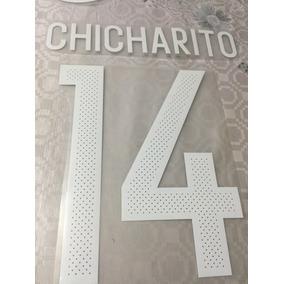 Tipografia. Chicharito. Jersey México Local
