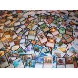 Lote Magic The Gathering (500 Comuns + 100 Terrenos Básicos)