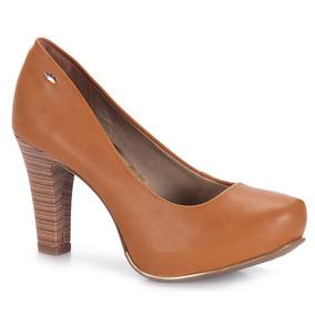 Sapato Scarpin Feminino Dakota - Caramelo