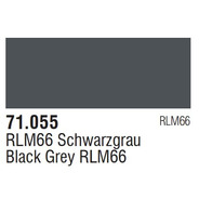 Tinta Black Grey Rlm66 71055 Model Air Vallejo Modelismo