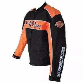 Jaqueta Motoqueiro Harley Davidson Em Couro
