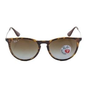Óculos De Sol Ray Ban Erika Rb4171 Tartaruga Lente Marrom P. R  279 6255e6639f