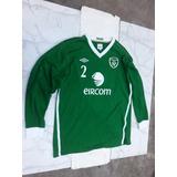 Camiseta Irlanda Umbro Jugador Original Importada