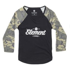 Blusa Feminina Element M Gringa - Camisetas e Blusas no Mercado ... a2eb30c2f4d