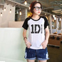 T-shirts Bandas De Rock One Direction 1d (baby Look Raglan)