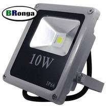 Kit 10 Refletor Led Holofote Branco Quente 30w - Ip66 Bivolt
