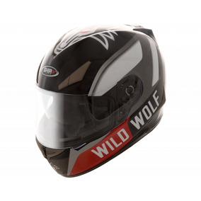 Casco Integral Shiro Sh715 Wild Wolf-yamaha Negro
